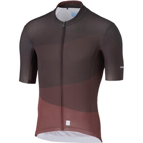 Shimano Breakaway Maillot Manches courtes Homme, wine